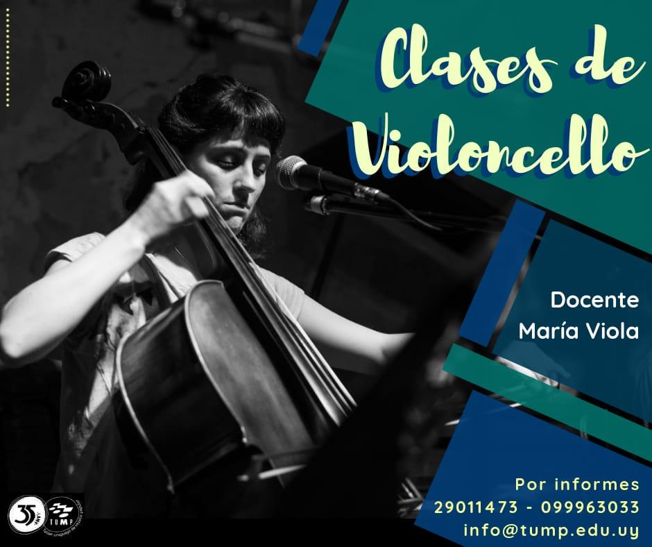clases de violoncello con María Viola